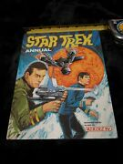 Star Trek Annual Hc Bbc Tv 1970 Unclipped Mint Condition Western Printing Rare