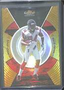 2005 Topps Finest Gold Refractor Rookie 124 Roddy White No 23 Of 49