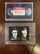 Rare Invader Art Signed Post Card 2019 + Zevs And Anonymous 99 Dvd New Authentic