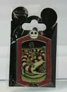 A4 Disney Wdi Le Pin Haunted Mansion Holiday Stretching Portrait Candy Snake