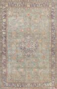 Antique Floral Oriental Medallion Area Rug Traditional Wool Hand-knotted 10x13