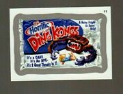 2013 Wacky Packages All New Series 11 Ans11 Silver Border Ding Kongs 11