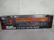 Rare Schneiders Red Hots Canada Volvo Reefer Tractor Trailer 1/64 Dcp New