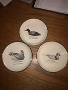 Lot 3 Ducks Unlimited Collector Plate Syracuse Watertown 85-87 Squaw Gadwall Loo