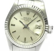 Rolex Oyster Perpetual Date 6917 Cal.2030 Automatic Ladies Watch_601217