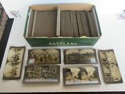 Antique Keystone View Company Stereoview Cards, India, Asia, Europe 218 Cards
