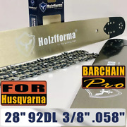 92dl 28 3/8 .058 Guide Bar Saw Chain Compatible With Husqvarna 272 281 288