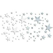 82andtimes Stars Mirror Wall Sticker 3d Stickers Full Acrylic Decal Diy Home Room Decor