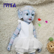 18and039and039 Silicone Reborn Dolls Newborn Avatar Fairy Baby Girls 2000g Xmas Gifts Toy