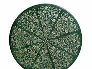 42 Marble Dining Table Top Inlay Rare Semi Round Center Coffee Table Ar1330