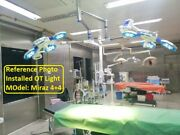 Double Dome Led Operation Light Operation Theater Surgical Ot Light 48+48 Ledand039s