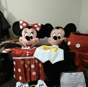 Disney Character Mascot Costumes Cosplay Real Photo Party Halloween ...