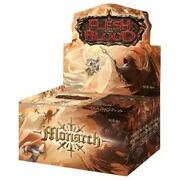 Flesh And Blood Monarch 1st Edition Box - Brand New And Sealed