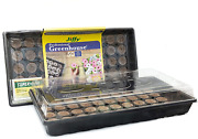 2 Pack - Jiffy Seed Starting Greenhouse + 50 - 42mm Peat Pellets + Superthrive
