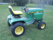 John Deere 317 Hydrostatic Lawn And Garden Tractor 17hp 2cy Electric Pto