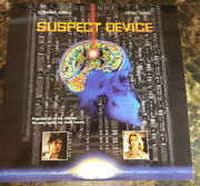 Laserdisc 1995 Suspect Device Id2366nh C. Thomas Howell Cia Stacey Travis 10