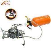 Stove Gas Camping Multi Fuel Outdoor Portable Burner Picnic Cooking Oil Burners