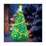 Joiedomi Christmas Inflatable Decoration 8 Ft Christmas Tree With Light With ...