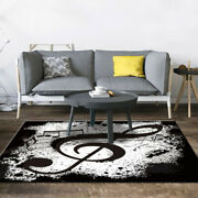 2020 Music Printed Living Room Carpet Nordic Bedroom Area Carpet Sofa Table