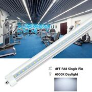 F96t12 T8 Fa8 Led 8ft Bulb Shop Lights Clear Cover Single Pin Fluorescent Tube