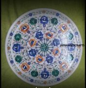 2and039x2and039 Marble Table Top Antique Malachite Corner Coffee Creative Inlay Stone W116