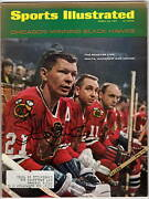 Stan Mikita Autographed Sports Illustrated Mar 20 1967