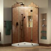 Dreamline Prism Plus 42 In. X 74 3/4 In. Frameless Neo-angle Shower Enclosure...