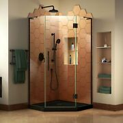 Dreamline Prism Plus 40 In. X 74 3/4 In. Frameless Neo-angle Shower Enclosure...