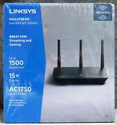 Brand New In Box Linksys Max-stream Ea7250 Dual-band Wifi 5 Router Free Shipping