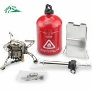 Camping Stove Gas Outdoor Portable Burner Multi Fuel Picnic Oil Folding Hiking