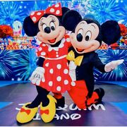 Mickey Mouse Mascot Costume Party Character Birthday Halloween Suit Adult