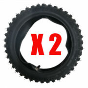2 Tires + 2 Tubes 2.75/2.50-10 For Ttr50 Xr50 Crf50 Dirt Bike Motorcycle Scooter