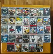 33 Playstation 3 Games Lot Ps3 Games Skyrim 007 Last Of Us Black Ops And More