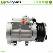 Ac Compressor For 2013-2016 Ford F-250 F-350 F-450 Super Duty 6.7l 8 Grooves