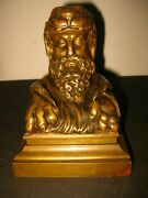 Antique French Bronze Ink Pot Inkwell Encrier Paul Sormani 1817-1877 Rare
