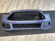 2015 2016 2017 2018 Ford Focus St Front Bumper Cover Complete With Grill/mount