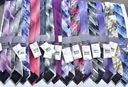 Menand039s Van Heusen Stafford And J Ferrar Lot Of 200 Silk Neck Tie Made In China New