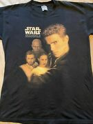Vintage Star Wars Episode Ii Attack Of The Clones T-shirt Promo Frito Lay Mens L