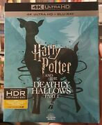Harry Potter And Deathly Hallows Part 1 4k Uhd + Blu-ray + Oop Slipcover Year 7