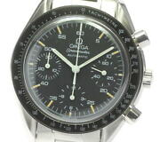 Omega Speedmaster 3510.50 Chronograph Black Dial Automatic Menand039s Watch_613039