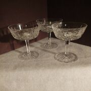 Signed Waterford Crystal Lismore Footed Pedestal Candy Dessert Dish Compote Bowl