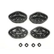 4pcs Upgrade Track Wheels Spare Parts For 1/16 Wpl B14 B24 C14 C24 Truck Rc Y8q9