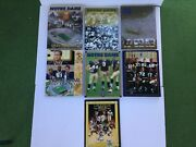 Lot Of 5 Notre Dame Fighting Irish Football Media Guides 1995 - 1999