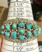 💙st Native American Dead Pawn Turquoise Cuff Bracelet Excellent ‼️