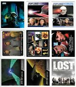 Non-sports Trading Card Promo Variety Lot Of Tv Super Hero's Movie Poster Cards