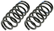 Moog Chassis Coil Spring In Black Improved High Strength Material 81682