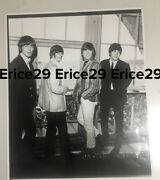 The Beatles Photograph By Ian Wright W/ Studio Stamp In England August 9, 1964