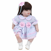 Babies Girl Doll With Long Hair Baby For Practicing Gift Kids