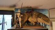 Sideshow Collectibles Militaries Of Star Wars Dewback 1/6 Scale W/sandtrooper