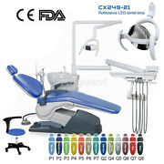 Tj2688-a1 Dental Chair Unit Computer Controlled Dc Motor + Doctor Stool/led Lamp